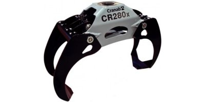 Cranab - Model CR 280x - Forestry Grapple