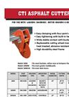 CTI Asphalt Cutter - Brochure