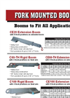 Fork Mounted Booms - Brochure