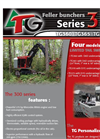 Feller - Model 300 Series - Bunchers / Harvesters - Brochure