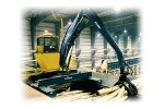 Model PL460 - Pedestal or Rail Mount Stationary Loaders