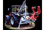 Hypro - Model 765 - Delimbing and Debarking Tractor Processor