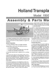 Conventional Transplanters Brochure
