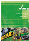 Model SH 15 - 4 and 6 Wheels Harvesters Brochure