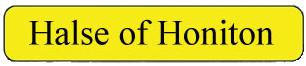 Halse of Honiton