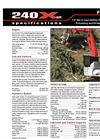 Forestry Equipment 240 X2- Brochure
