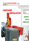 Model BMV - Vineyard Defoliator Brochure