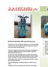 Berthoud - Mounted Speedair Sprayer Brochure