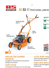 AS - Model 53 4T - Professional Lawn Mower - Data Sheet