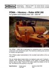 Model ARW 200 - Vibratory Roller Brochure