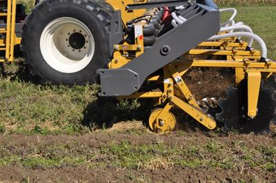 SoilWarrior - Model X - Deep Fall Tillage System