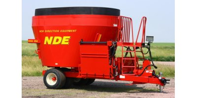 NDE - Model 654 - Front Door Vertical Mixer