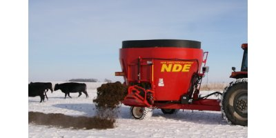 NDE - Model 1652 - Side Door Vertical Mixer