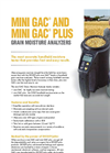 Model GAC & GAC Plus - Grain Moisture Analyzers Brochure