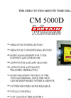 Model CM 5000D - Curtain-Minder Brochure