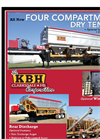 KBH - Model 26 Ton - Side Discharge Tender Trailer Brochure