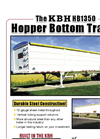 KBH - Model HB1350 - Hopper Bottom Trailers Brochure