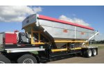KBH - Model 26 Ton - Rear Discharge Tender Trailer