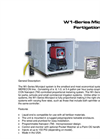 MicroJect - W1-Series - Single Fertigation System Brochure