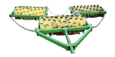 Model RanchWorx Series - Triplex Soil Aerators