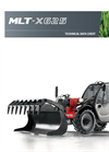 Manitou - Model MLT-X 625 75 H - Maniscopic Telehandler Brochure