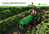 Vineyard - 5GV Series - Tractor - Brochure