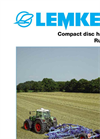 Lemken - Rubin 9 - Compact Disc Harrows - Brochure