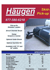 Haugen - Pick-up Brooms Brochure