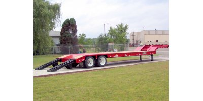 Model 35-ton FG35L-RS - Fixed Gooseneck Trailer