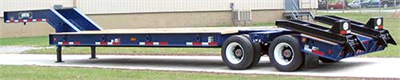 Model 25-ton TVT25 - Fixed Gooseneck Trailer