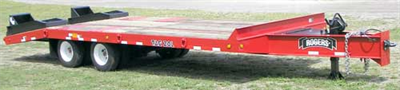 Model 20-ton TAG20L - Tag-Along Trailer
