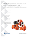 Berkeley - High Flow / High Efficiency Centrifugal Irrigation Pumps Datasheet
