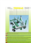 THOMAS - Mulcher Brochure