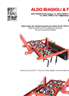 Model EM-11 & EM-15 - Harrow with Blade - Datasheet