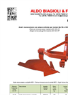 Model 30-100 HP - Single Furrow Ploughs for Tractors - Datasheet