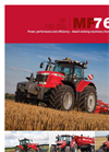 Massey Ferguson - Model 7600 and 7614 - Wheeled Tractor Brochure