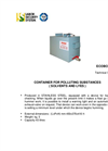 Ecobox INOX Container For Polluting Substances (Solvents And Bases) Brochure