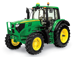 John Deere - Model 6140M - Row Crop Tractor