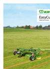 KRONE - - EasyCut Trailed Disk Mowers Brochure