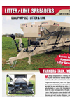 Lanco - Model LS 3550 - Litter/Lime Spreaders - Brochure