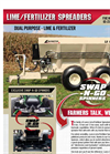 Lanco - Model LS 540 - Lime/Fertilizer Spreaders - Brochure
