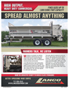 Lanco - Model LS-7000 HDC - High Output Box Spreader Brochure