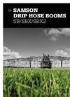 Samson - Drip Hose Booms - SB/SBX/SBX2 - Brochure