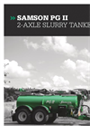 Samson - Model PG II - Slurry Tankers - Brochure