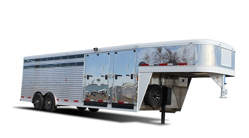 Sooner Ranch DR 824 - Show Cattle Trailer