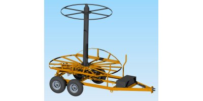 Maximo - Stringer Trailer for Agricultural Drainage Tile
