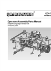 UTV Cultivator w/Harrow Option - Manual