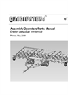 Quadivator - Model UTV - Harrow - Manual