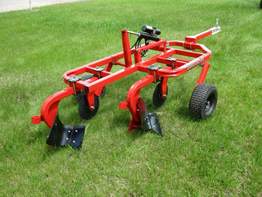 Quadivator - Model UTV - Two-Bottom Plow