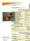 Model 1848 OHV - Overhead Value (OHV) Mowers Brochure